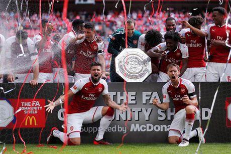 Nhung thong ke an tuong sau Sieu cup Anh cua Arsenal - Anh 1