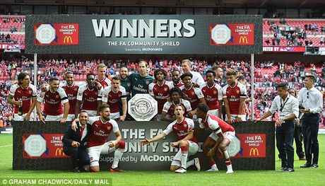 Cai duyen ki la cua Arsenal o san Wembley - Anh 1
