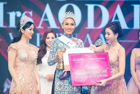Mrs Ao dai Viet Nam 2017 gay duoc tieng vang lon tai Uc - Anh 9
