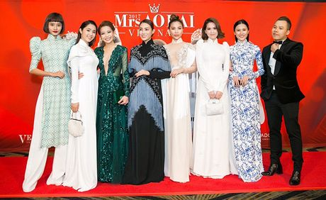 Mrs Ao dai Viet Nam 2017 gay duoc tieng vang lon tai Uc - Anh 1