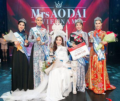 Mrs Ao dai Viet Nam 2017 gay duoc tieng vang lon tai Uc - Anh 6