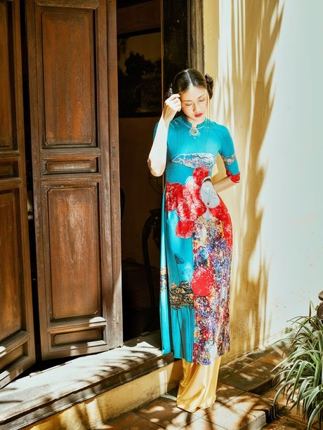 New York Couture Fashion Week 2017: Gap go nguoi ¼ the ky quang ba ao dai Viet - Anh 10