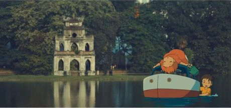 Bat ngo cac nhan vat hoat hinh Ghibli do bo khap pho phuong Ha Noi - Anh 4