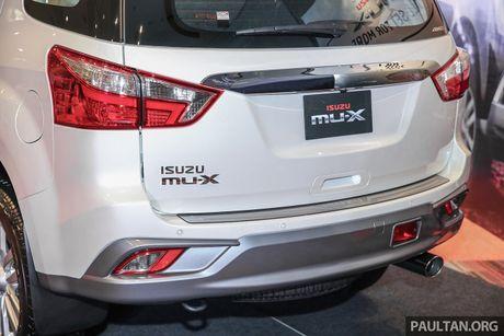 Isuzu ra mat MU-X 2017, gia tu 41.400 USD - Anh 14