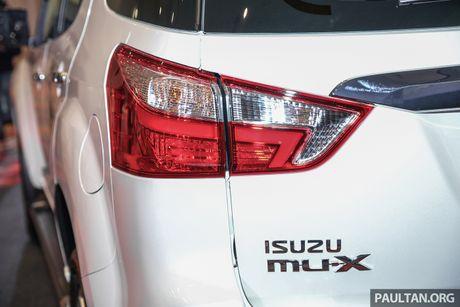 Isuzu ra mat MU-X 2017, gia tu 41.400 USD - Anh 15