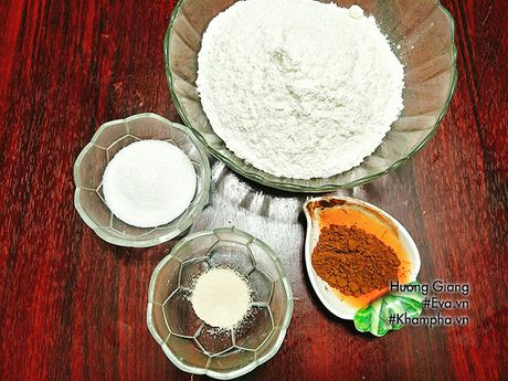 Banh bao chocolate cuc de lam, nhanh gon cho bua sang - Anh 1