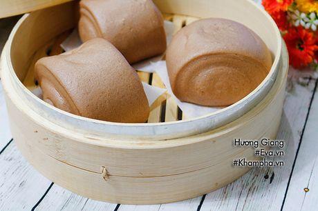 Banh bao chocolate cuc de lam, nhanh gon cho bua sang - Anh 9