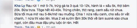 Than tho chong dua 100 nghin/ngay doi com 3 mon 4 nguoi, co vo khong ngo duoc chi cho tram cach nau - Anh 3