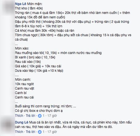 Than tho chong dua 100 nghin/ngay doi com 3 mon 4 nguoi, co vo khong ngo duoc chi cho tram cach nau - Anh 6