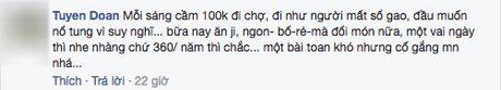 Than tho chong dua 100 nghin/ngay doi com 3 mon 4 nguoi, co vo khong ngo duoc chi cho tram cach nau - Anh 7