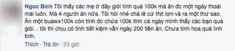 Than tho chong dua 100 nghin/ngay doi com 3 mon 4 nguoi, co vo khong ngo duoc chi cho tram cach nau - Anh 8