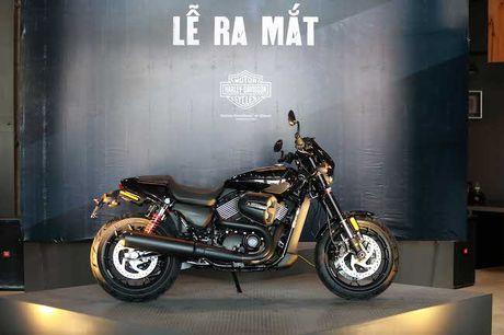 Co gi dac biet o moto duong pho Street Rod cua Harley-Davidson gia tu 415 trieu tai Viet Nam - Anh 1