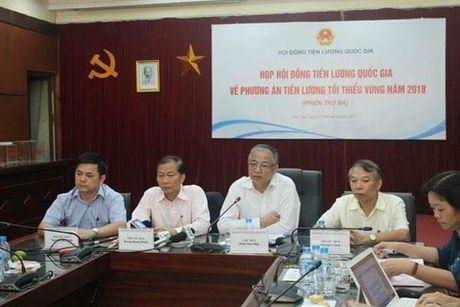 Chot muc tang luong toi thieu vung nam 2018 o muc 6,5% - Anh 1