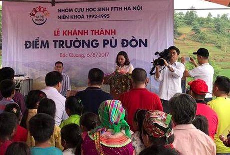 Khanh thanh diem truong moi cho thon ngheo o Ha Giang - Anh 1