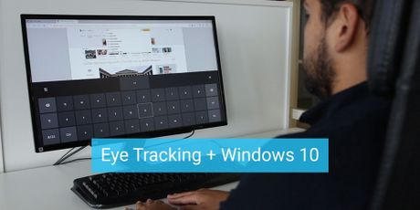 Ban cap nhat Windows 10 cho phep nguoi dung dieu khien may tinh bang mat - Anh 1