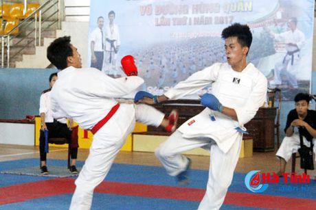 CLB Karatedo Trung tam TDTT Ha Tinh gianh giai Nhat toan doan - Anh 4