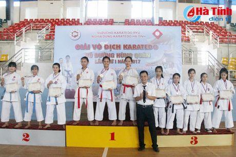CLB Karatedo Trung tam TDTT Ha Tinh gianh giai Nhat toan doan - Anh 6