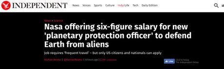 Su that thong tin NASA tuyen 've binh Dai Ngan Ha' de bao ve Trai Dat? - Anh 2