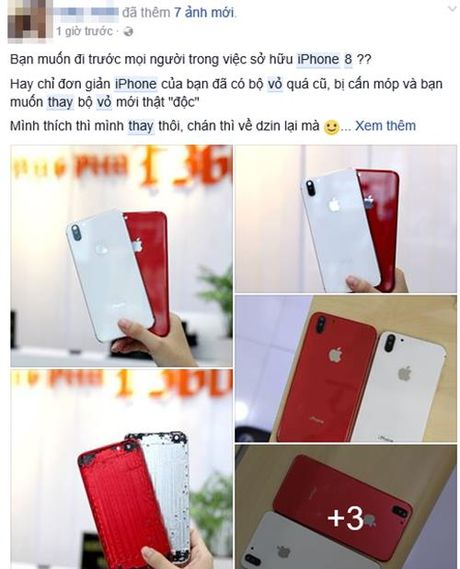 Ro dich vu thay vo thanh iPhone 8 gia 1,4 trieu dong - Anh 1