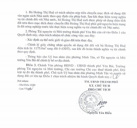Chieu ngay 11/8, se cong bo ket luan thanh tra ve vu biet phu cua Giam doc So TNMT Yen Bai - Anh 8