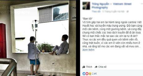 Buc anh ve hai be trai va thong diep an phia sau lay dong trai tim hang chuc nghin nguoi - Anh 1