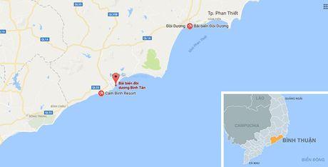 Sinh vien vua ra truong bi song cuon xa 10 km khi tam bien Binh Thuan - Anh 2