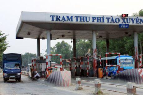 Ngay 10/8, tram thu phi Tao Xuyen dung thu phi - Anh 1