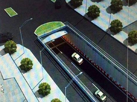 Khởi công nút giao thông Tân Phong, cấm xe tải 300 ngày