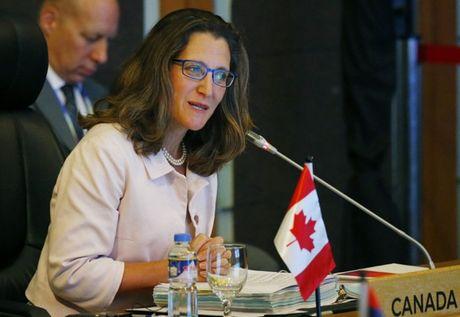 Canada quyet dinh trien khai them canh sat toi giup binh on Iraq - Anh 1