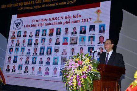 Lien Hiep hoi Viet Nam ton vinh 65 tri thuc khoa hoc - Anh 2
