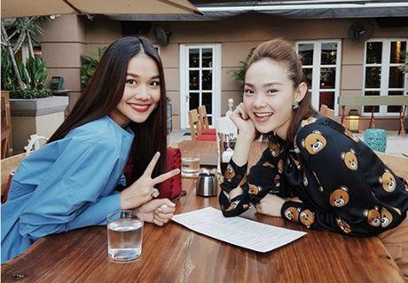 Thanh Hang lan dau len tieng ve tin 'nghi choi' voi Ha Ho - Anh 2