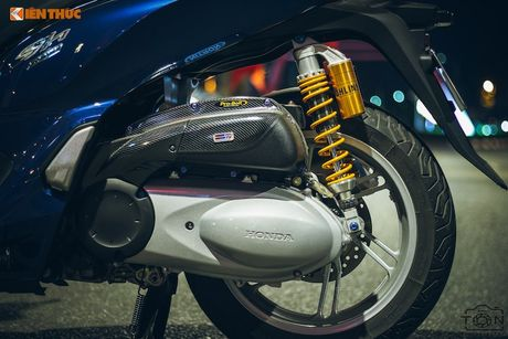 Xe ga Honda SH300i gia 248 trieu do khung tai Sai Gon - Anh 5