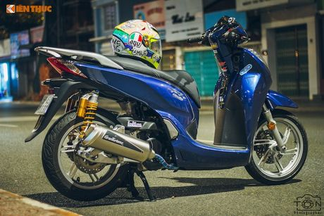 Xe ga Honda SH300i gia 248 trieu do khung tai Sai Gon - Anh 7