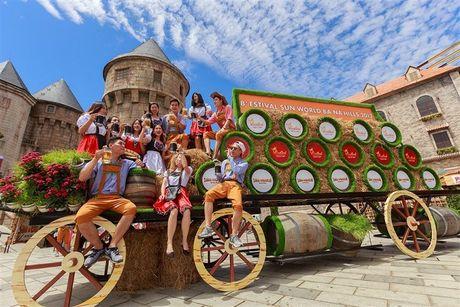 B'estival Sun World Ba Na Hills: Vui khong khoang cach - Anh 2