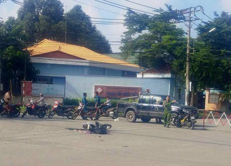 Xe container gay tai nan nghiem trong trong KCN Tan Binh - Anh 1