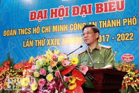 Tuoi tre Cong an Thu do: Sang tao, muu tri, het long phuc vu nhan dan - Anh 3