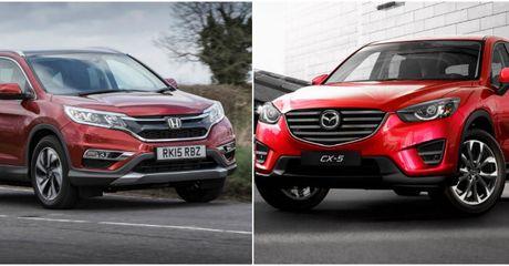 Mazda CR-5 vs Honda CR-V: Dua nhau giam gia gianh giat thi phan - Anh 1