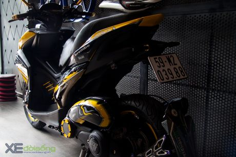 Chi tiet Yamaha NVX 155 vo dich cuoc thi 'Do NVX - Dan dau xu huong' - Anh 18