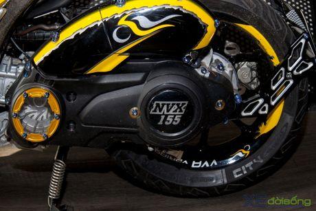 Chi tiet Yamaha NVX 155 vo dich cuoc thi 'Do NVX - Dan dau xu huong' - Anh 26