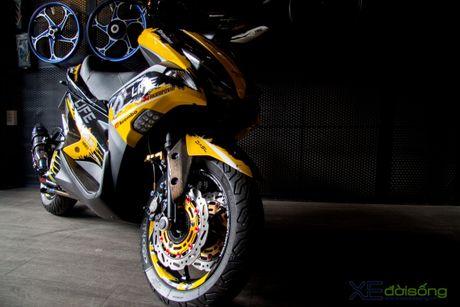 Chi tiet Yamaha NVX 155 vo dich cuoc thi 'Do NVX - Dan dau xu huong' - Anh 3