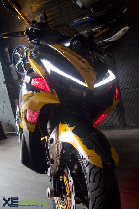 Chi tiet Yamaha NVX 155 vo dich cuoc thi 'Do NVX - Dan dau xu huong' - Anh 5