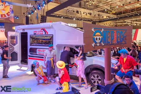 Nha di dong Isuzu MotorHome, ung dung vo bien cua pickup D-MAX - Anh 14