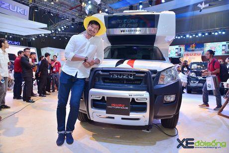 Nha di dong Isuzu MotorHome, ung dung vo bien cua pickup D-MAX - Anh 2