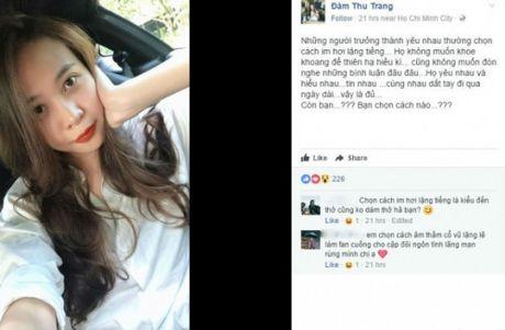 Nghi van yeu Cuong Do la, Dam Thu Trang 'up mo' tra loi - Anh 1