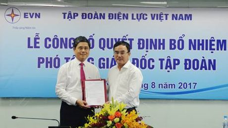 EVN co them Pho Tong Giam doc moi - Anh 1