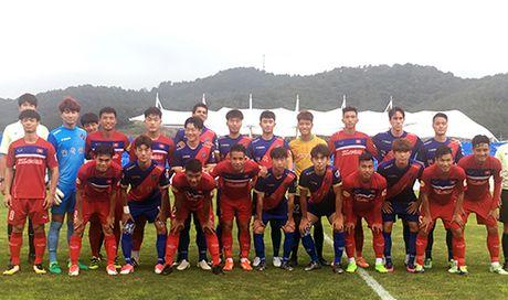 U22 Viet Nam thang dam 6-1 truoc chu nha FC Busan - Anh 1