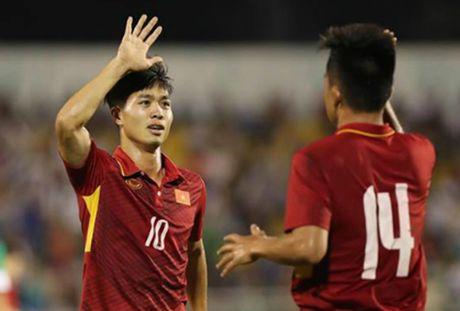 U22 Viet Nam thang dam 6-1 truoc chu nha FC Busan - Anh 2