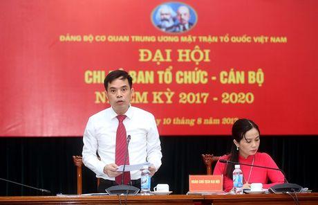Dai hoi Chi bo Ban To chuc - Can bo Co quan UBTU MTTQ Viet Nam - Anh 1
