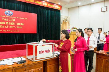 Dai hoi Chi bo Ban To chuc - Can bo Co quan UBTU MTTQ Viet Nam - Anh 2