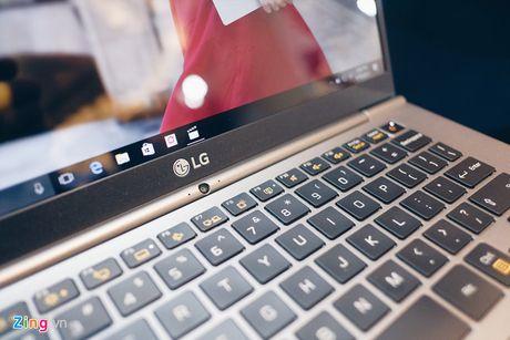 LG ra mat laptop nhe nhat the gioi tai Viet Nam - Anh 5
